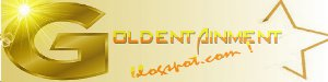logo for www.goldentainment.blog.com